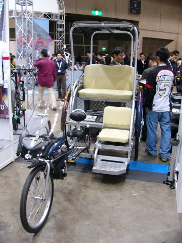 自転車タクシー
