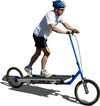 トレッドミル式自転車