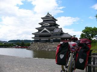 松本城と愛車 その一