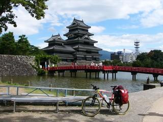 松本城と愛車 その二