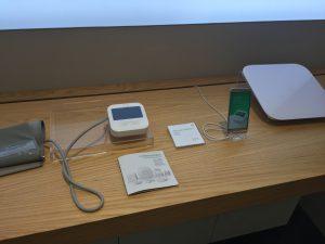 血圧計と体重計